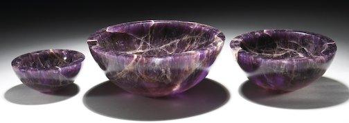 Amethyst Bowls