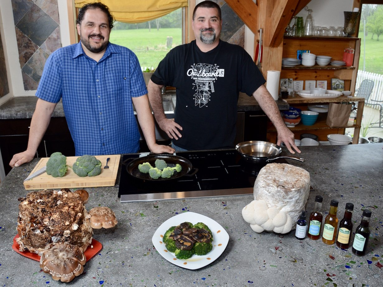Brad Wuerstle and Joe Seif Mushrooms