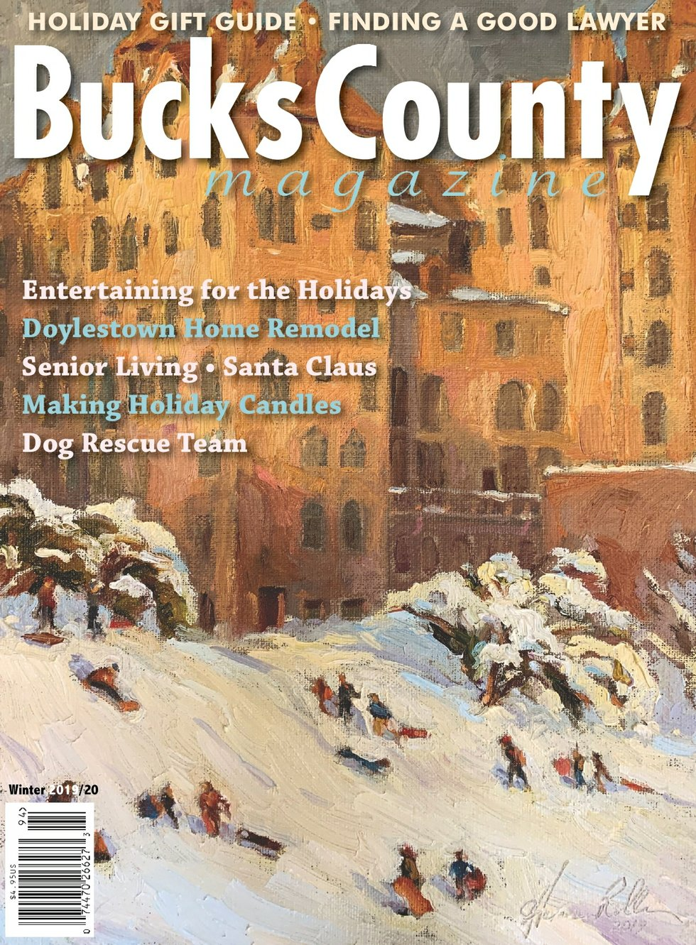 Bucks Winter 2019 Cover