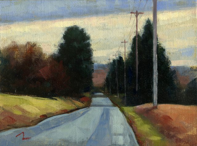 George Thompson_DownThe Road_6x8.jpeg