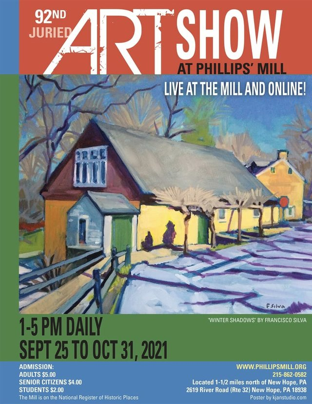 Art Show at The Mill