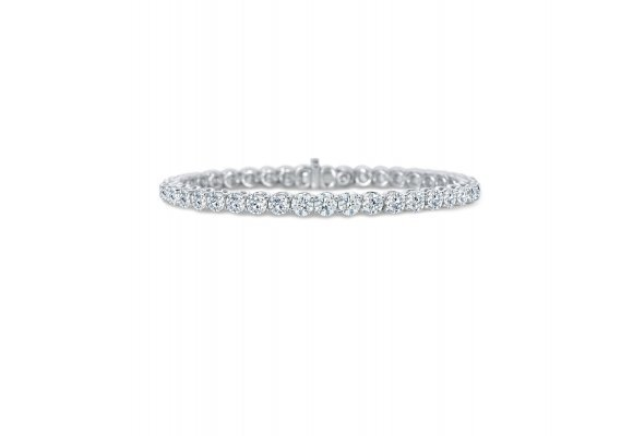 Lattice Diamond Bracelet
