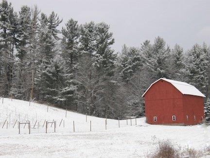 Endless Mountains - winter